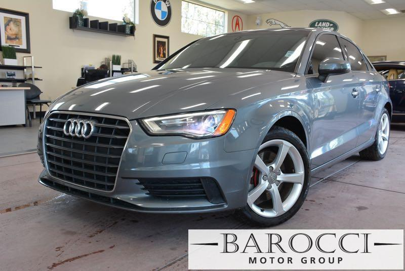 2015 Audi A3 18T Premium 4dr Sedan 6 Speed Auto Gray This is a fabulous one owner 2015 Audi A3