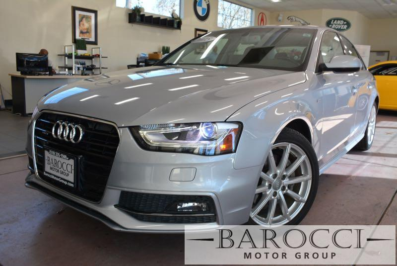 2015 Audi A4 20T quattro Premium AWD  4dr Sedan 8 Speed Auto Silver This is a fabulous one owne