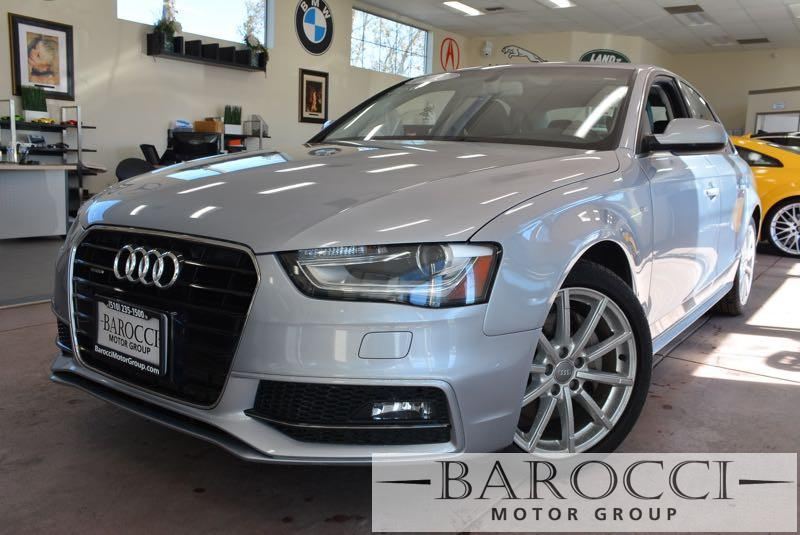 2015 Audi A4 20T quattro Premium AWD  4dr Sedan 8 Speed Auto Silver Black We are proud to offe