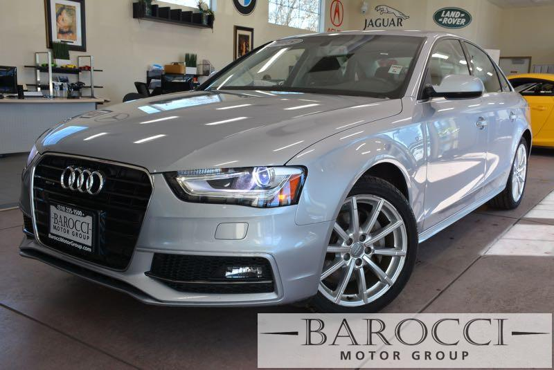 2015 Audi A4 20T quattro Premium AWD  4dr Sedan 8 Speed Auto Silver Black Now offering an exce