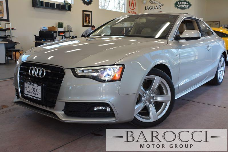 2015 Audi A5 20T quattro Premium AWD  2dr Coupe 8 Speed Auto Gold Tan You are looking at an ex