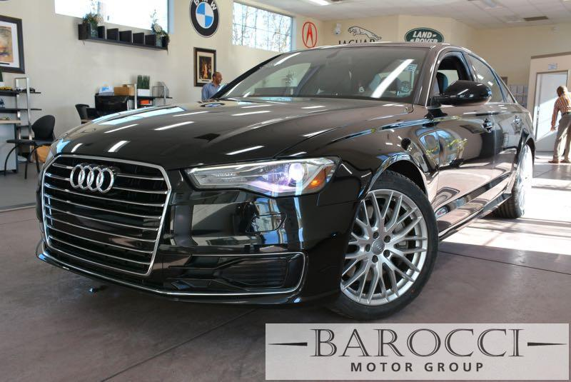2016 Audi A6 20T Premium 4dr Sedan 7 Speed Auto Black This is a very nice one owner 2016 Audi A