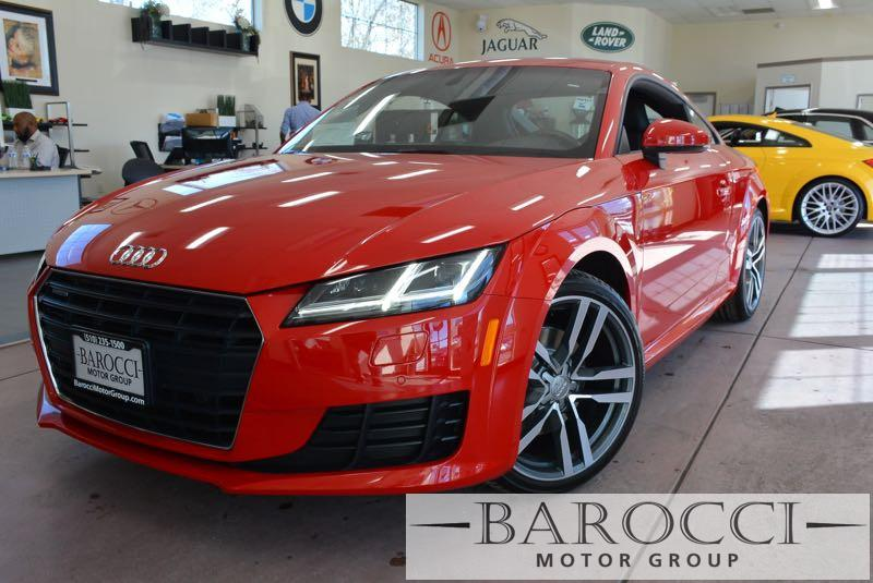 2016 Audi TT 20T quattro AWD  2dr Coupe 6 Speed Auto Red Black We are proud to offer a superb