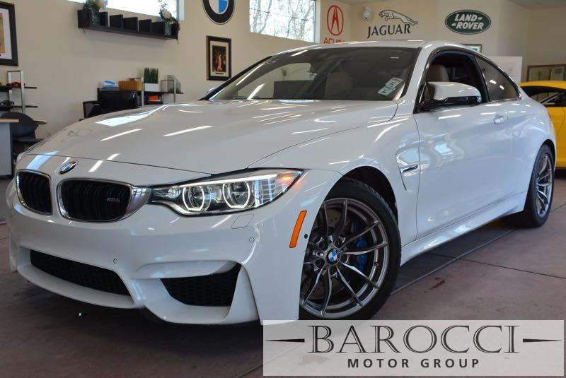 2015 BMW M4 M4 2dr Coupe Automatic White Tan Now for sale is a beautiful one owner 2015 BMW M4
