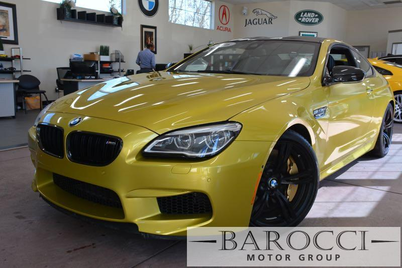 2016 BMW M6 M6 2dr  Competition Pkg Automatic Green Black We are excited to offer a great one o