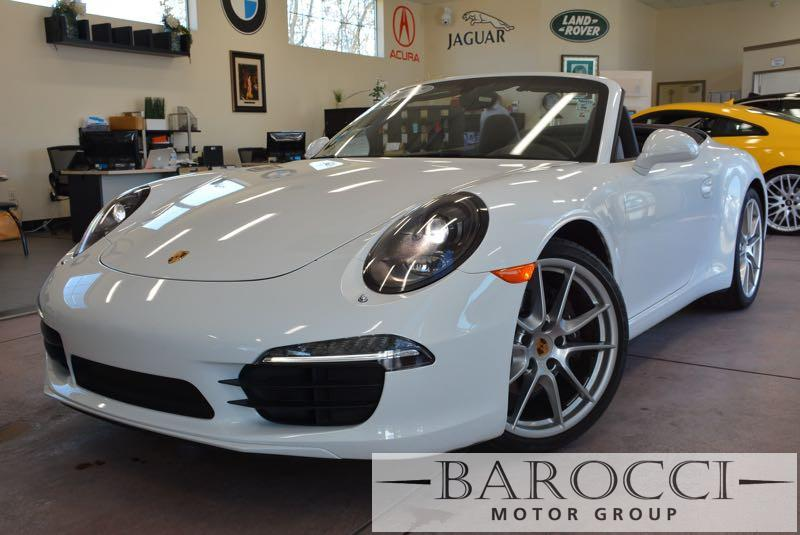2014 Porsche 911 Carrera 2dr Convertible 6-Speed Manual  White Brown This is a clean one owner