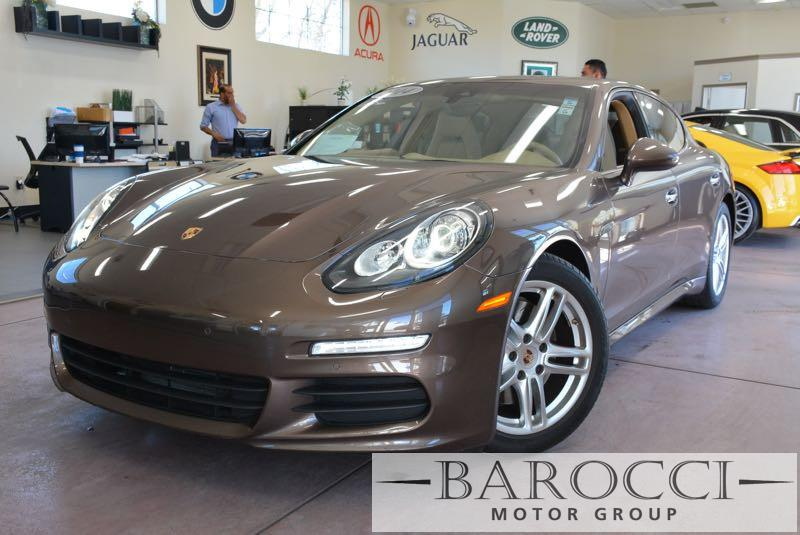 2014 Porsche Panamera Panamera 4dr Sedan 7 Speed Auto Dk Brown Tan We are excited to offer a