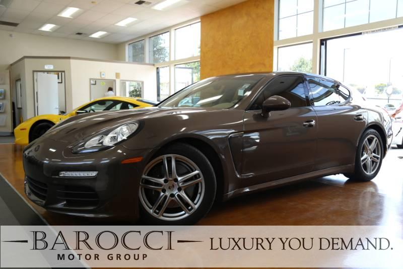 2014 Porsche Panamera Panamera 4dr Sedan 7 Speed Auto Dk Brown Tan We are pleased to offer thi