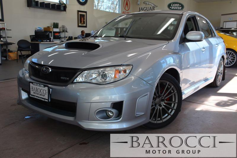 2014 Subaru Impreza WRX AWD  4dr Sedan 5 Speed Man Silver Now for sale is a striking one owner