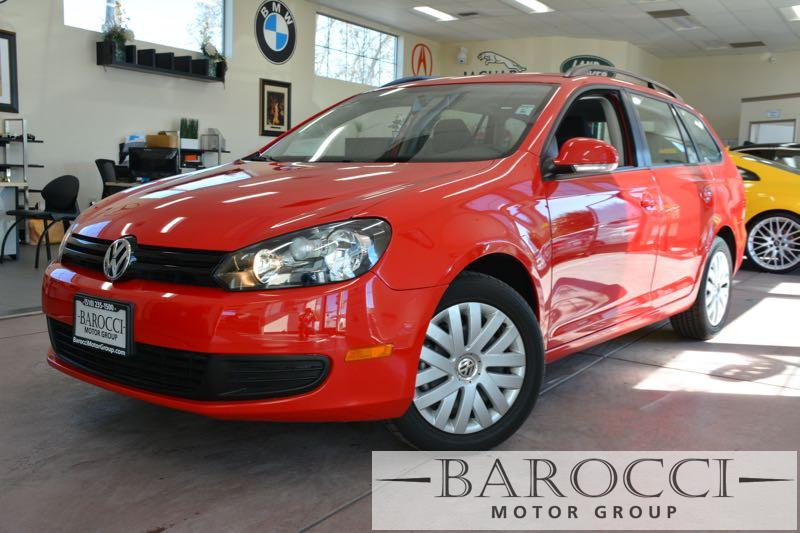 2014 Volkswagen Jetta SportWagen S PZEV 4dr Wagon 6A 6 Speed Auto Red Now offering a great one o