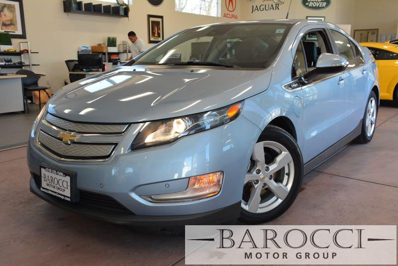 2014 Chevrolet Volt Premium 4dr Hatchback 1 Speed Auto Blue We are proud to offer this frontline
