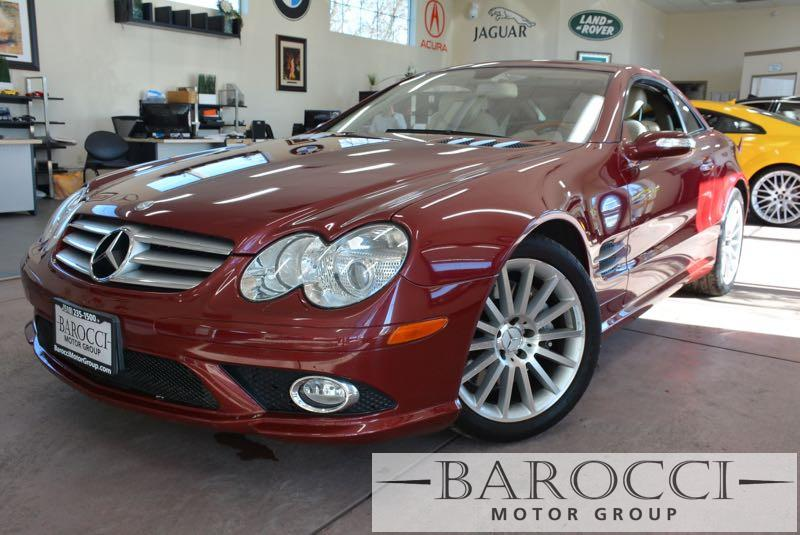 2008 MERCEDES SL-Class SL550 2dr Convertible 7 Speed Auto Red Tan This is a sublime 2008 Merced