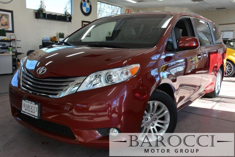 2015 Toyota Sienna XLE 7-Passenger Auto 4dr Mini-Van 6 Speed Auto Red Black We are proud to off