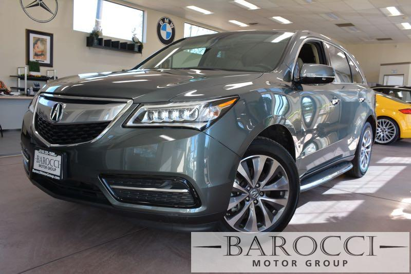 2014 Acura MDX wTechnology Package 4dr SUV 6 Speed Auto Gray Tan We are excited to offer a sup