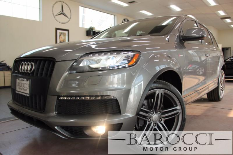 2014 Audi Q7 30T Prestige Pkg  S-line  AWD 8 Speed Auto Gray Black Now offering a delightful o