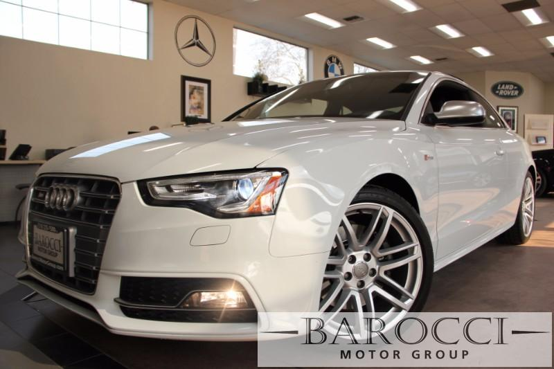 2015 Audi S5 30T quattro Premium Plu AWD 7 Speed Auto White Black You are looking at a very ni