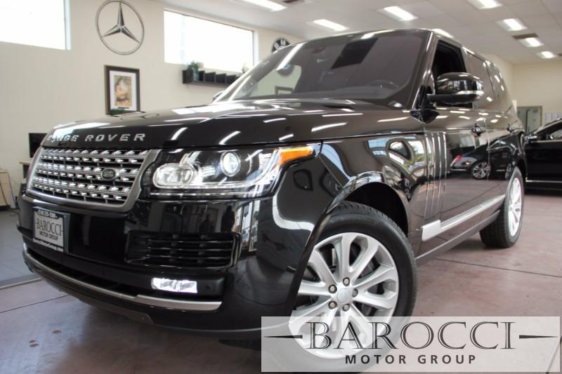 2016 Land Rover Range Rover HSE AWD  4dr SUV 8 Speed Auto Black Black This is an exquisite one