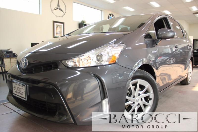 2016 Toyota Prius V Five 4dr Wagon Automatic Gray Black We are excited to offer a delightful 20