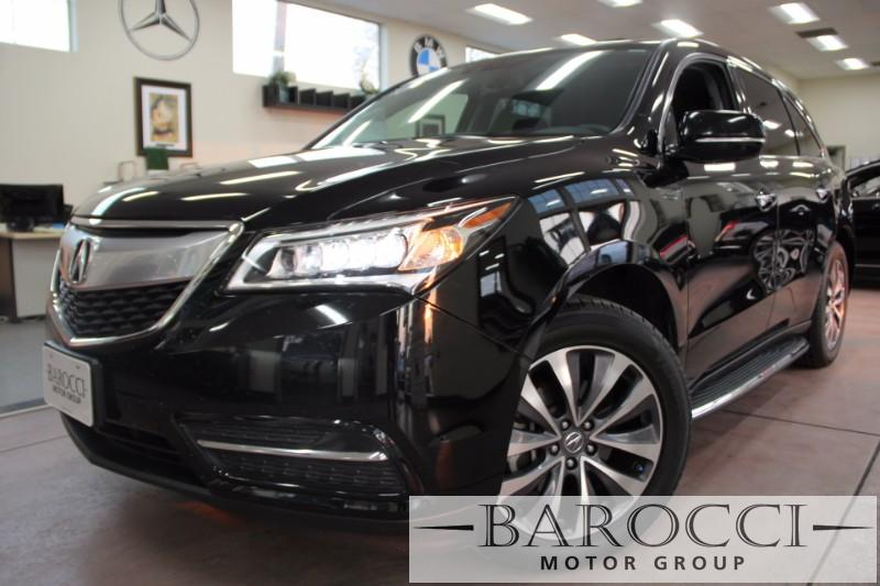 2015 Acura MDX wTech 4dr SUV nology Package 6 Speed Auto Black Black Up for sale is a great on