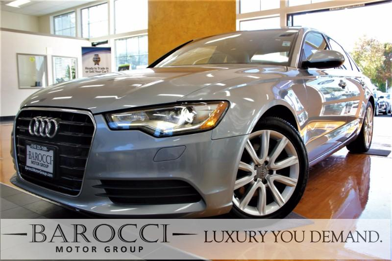2014 Audi A6 20T quattro Premium Plus AWD 8 Speed Auto Gray This is a sublime one owner 2014 Au