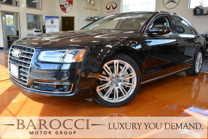 2015 Audi A8 L 40T quattro AWD  4dr Sedan 8 Speed Auto Black Black We are pleased to offer a