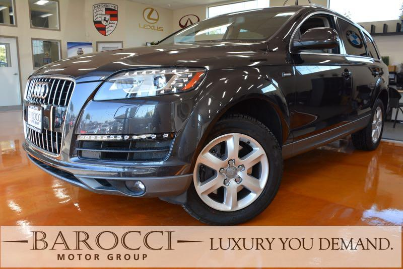 2014 Audi Q7 30T quattro Premium Plu AWD 8 Speed Auto Gray Black You are looking at this front
