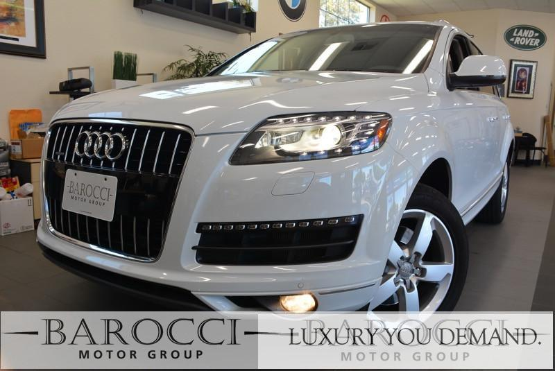 2014 Audi Q7 30T quattro Premium Plu AWD 8 Speed Auto White Black You are looking at an exquis