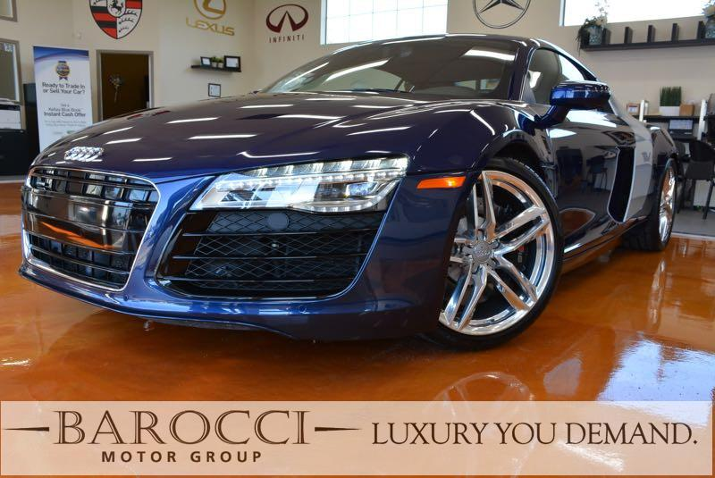 2014 Audi R8 42 quattro AWD  2dr Coupe 7A 7 Speed Auto Blue Black Up for sale is this fantasti