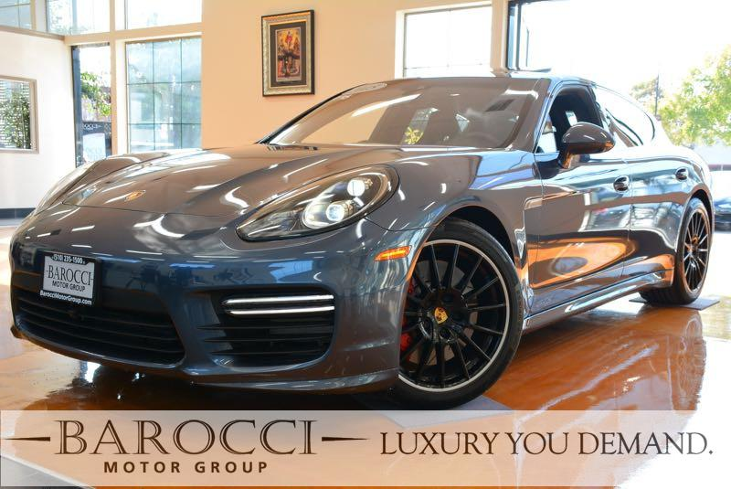 2015 Porsche Panamera GTS AWD  4dr Sedan 7 Speed Auto Blue Black We are excited to offer this f