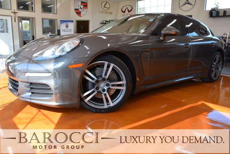 2015 Porsche Panamera 4dr Sedan 7 Speed Auto AGATE Beige Now for sale is this fantastic one own