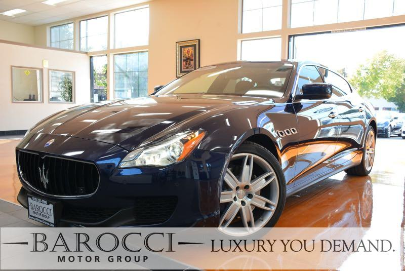 2015 Maserati Quattroporte S Q4 AWD  4dr Sedan 8 Speed Auto Blue You are looking at a delightful