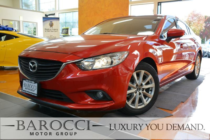 2015 Mazda Mazda6 i Sport 4dr Sedan 6A 6 Speed Auto Red We are proud to offer a super nice one o