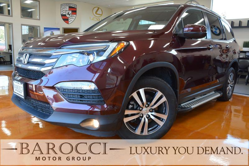 2016 Honda Pilot EX AWD  4dr SUV 6 Speed Auto Red This is an exquisite 2016 Honda Pilot that is