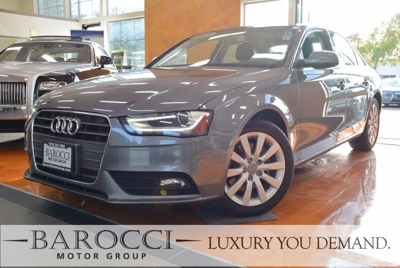 2013 Audi A4 20T Premium 4dr Sedan Automatic CVT Gray We are proud to offer a striking one owne