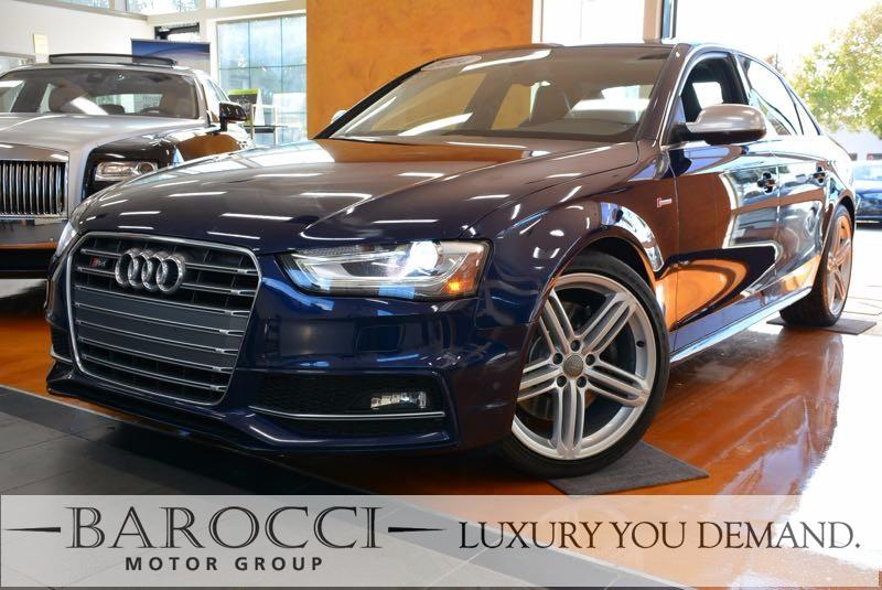 2014 Audi S4 30T quattro Premium Plus AWD 7 Speed Auto Blue Black You are looking at a terrifi