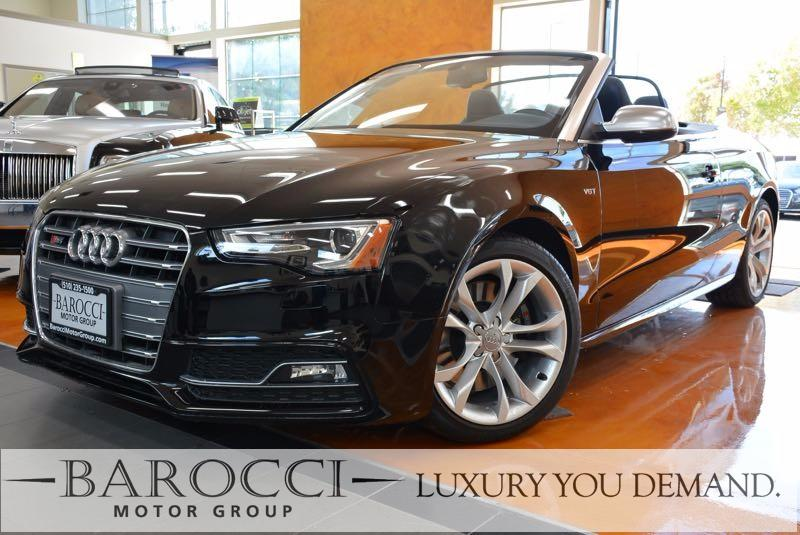 2017 Audi S5 30T quattro AWD  2dr Convertible 7 Speed Auto Black Black This is a beautiful one
