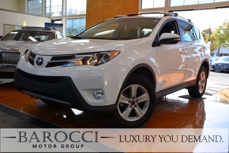 2014 Toyota RAV4 XLE 4dr SUV 6 Speed Auto White Luxury You Demand Child Safety Door Locks Powe