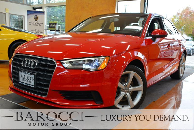 2015 Audi A3 18T Premium 4dr Sedan 6 Speed Auto Red We are excited to offer a delightful one ow