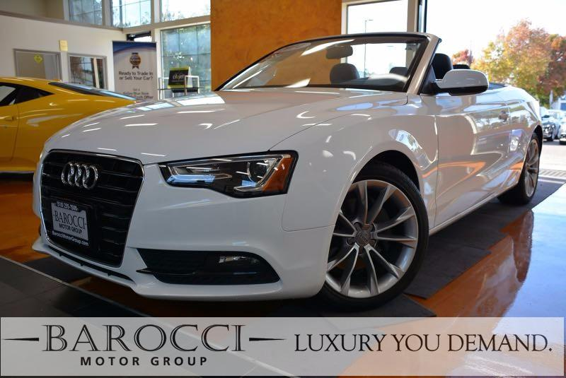 2014 Audi A5 20T Premium 2dr Convertible Continuously Variable Transmission White We are proud