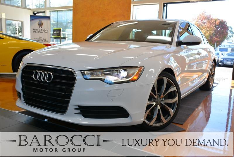 2015 Audi A6 20T Premium Plus 4dr Sedan Automatic White Now for sale is a beautiful one owner 2
