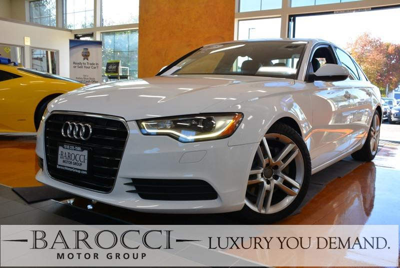 2015 Audi A6 20T Premium 4dr Sedan Automatic White We are excited to offer a fabulous one owner
