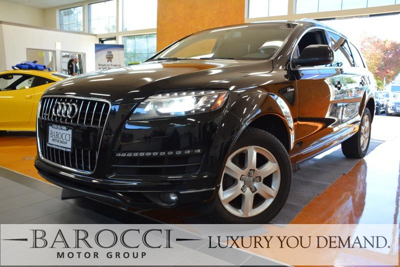 2015 Audi Q7 30T quattro Premium AWD  4dr SUV 8 Speed Auto Black We are proud to offer a clean