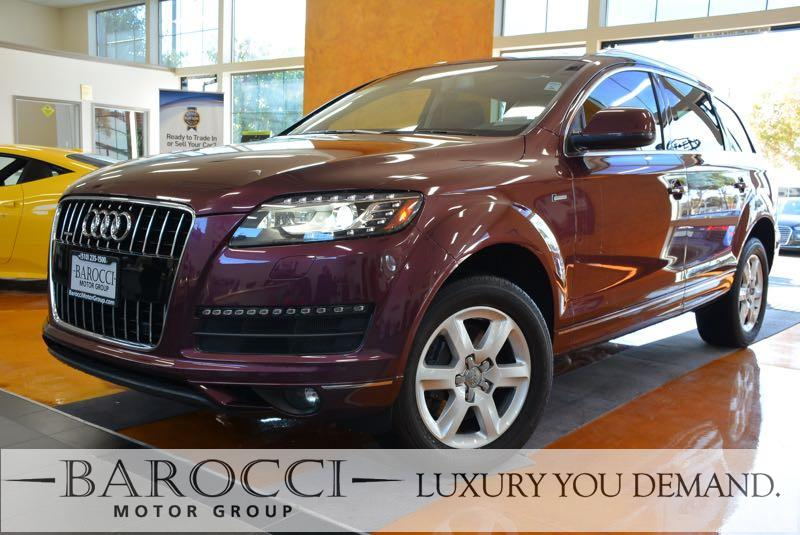 2015 Audi Q7 30T quattro Premium Plu AWD 8 Speed Auto Purple We are pleased to offer an immacul