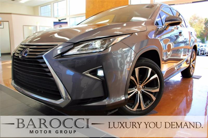 2016 Lexus RX 450h AWD 4dr SUV Automatic Gray Brown Luxury You Demand Child Safety Door Locks