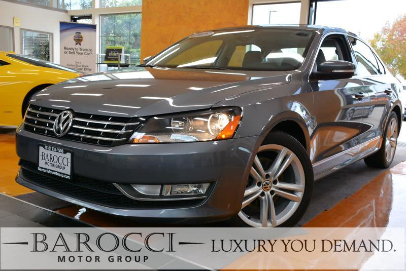 2015 Volkswagen Passat TDI SEL Premium 4dr Sedan 6A 6 Speed Auto Gray Up for sale is a striking