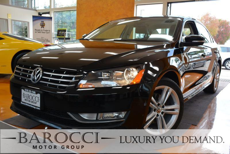 2015 Volkswagen Passat TDI SEL Premium 4dr Sedan 6A 6 Speed Auto Black Now offering a clean one