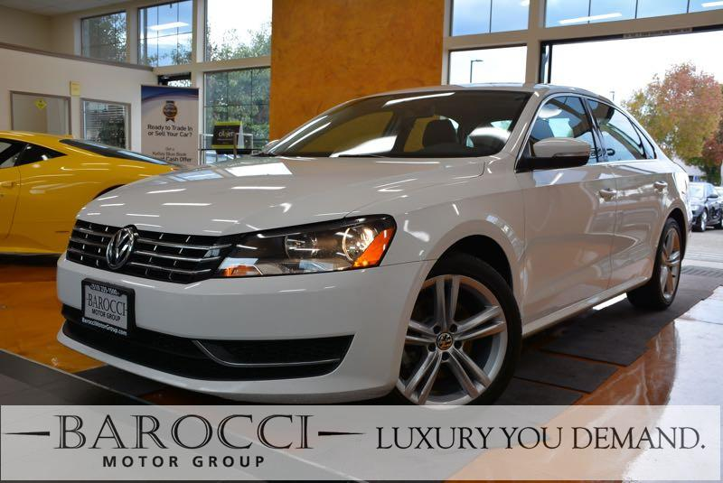 2015 Volkswagen Passat TDI SE 4dr Sedan 6A wSunroof 6 Speed Auto White Up for sale is a delight
