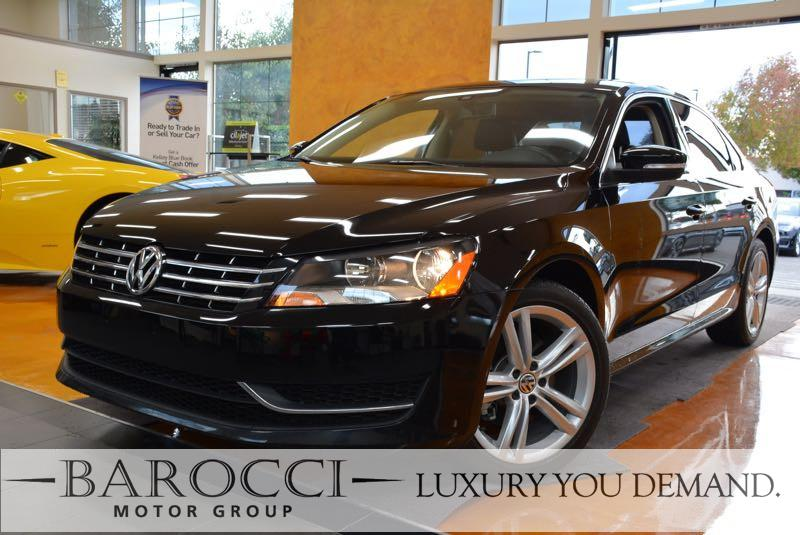 2015 Volkswagen Passat TDI SE 4dr Sedan 6A wSunroof 6 Speed Auto Black We are proud to offer a