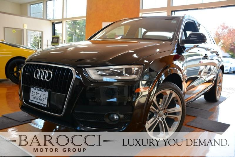 2015 Audi Q3 20T quattro Premium Plus AWD 6 Speed Auto Black We are excited to offer an outstan