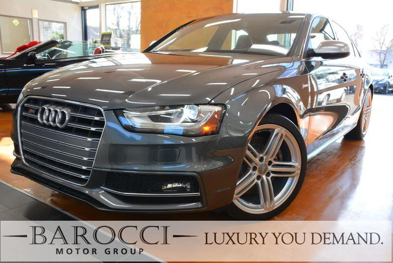 2015 Audi S4 30T quattro Premium Plu AWD 7 Speed Auto Gray Up for sale is a wonderful one owner